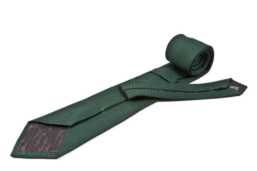 Cravatta grenadine verde