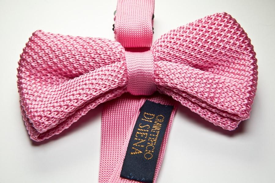 Papillon maglia rosa