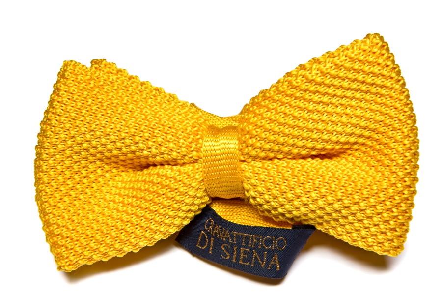 Papillon maglia giallo