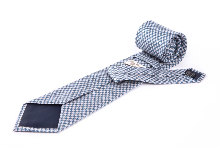 Cravatta piedipull celeste