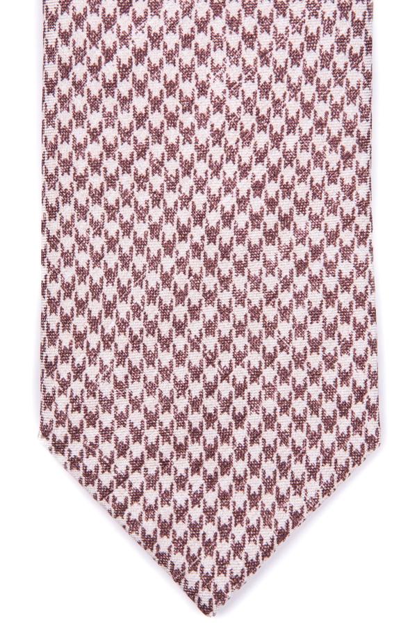 Cravatta piedipull marrone