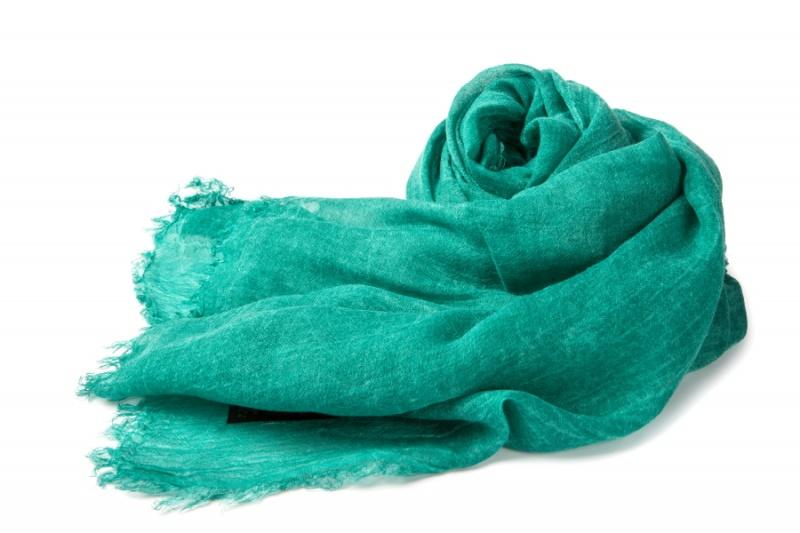 Sciarpa Verde Smeraldo